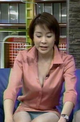 内田恭子パンチラ&胸チラ